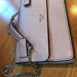 Rose Gold Guess Satchel
